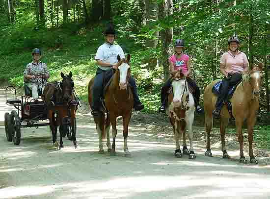see info on the GSCA Drive/Ride outing in Chocorua, New Hampshire