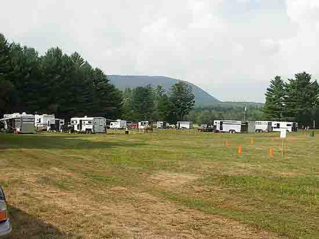 Horse camping horse trailers Granite State Carriage